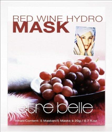 Etre Belle Red Wine Hydro Mask/Antiwrinkle, 5 Masks