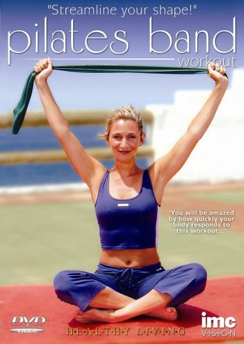 Pilates Flexi-Band Workout Including Flexi-Band - Healthy Living Series [DVD]