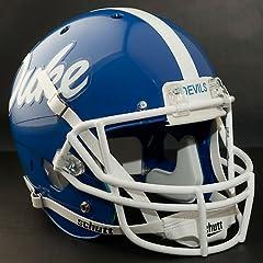 DUKE BLUE DEVILS 1979-1980 Schutt AiR XP Authentic GAMEDAY Football Helmet by ON-FIELD