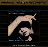 Marianne Faithfull Strange Weather and Broken English