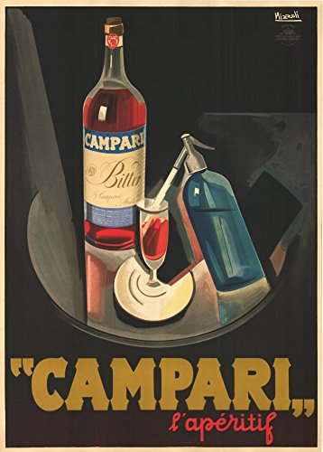 vintage-beers-wines-and-spirits-campari-laperitif-c1927-250gsm-gloss-art-card-a3-reproduction-poster