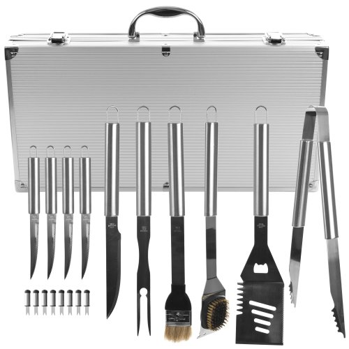 Chefs Kitchen Outdoors - 20 Piece Barbecue Set
