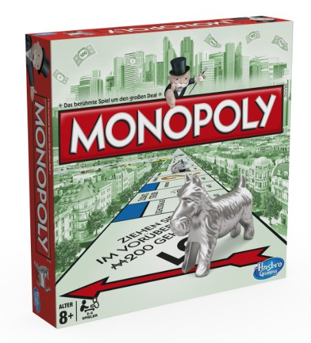Hasbro 00009398 – Monopoly Classic – deutsche Version – Edition 2013