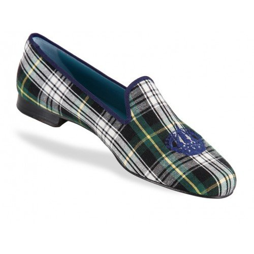 Rev Animas Code Women Green Navy Madras Crown Size : 40