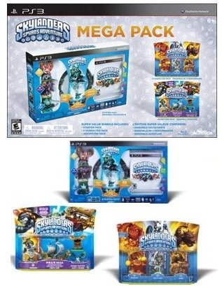 Skylanders: Spyro's Adventure Mega Pack - PlayStation 3