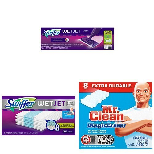Amazing Swiffer WetJet Bundle (Swiffer Wetjet Starter compare prices)