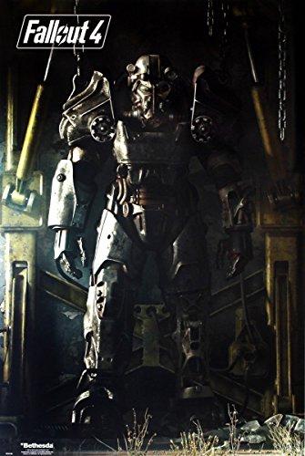 GB Eye, Fallout 4, Key Art, Maxi Poster, 61 x 91,5 cm