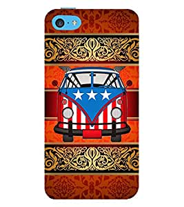 American Van Indian Art 3D Hard Polycarbonate Designer Back Case Cover for Apple iPod Touch 6 (6th Generation)