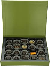 CoCoa Confection Grey/Green, Executive Marquee Chocolate Gift Box, 20 Count