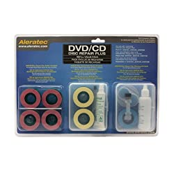 Aleratec 240138 DVD CD Disc Repair Plus Refill Value Pack