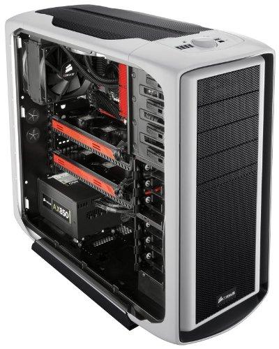 Corsair 600t White Graphite Atx Mid Tower Case Cc600twm