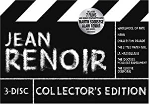 Jean Renoir 3-Disc Collector's Edition (Whirlpool of Fate / Nana / Charleston Parade / La Marseillaise / The Doctor's Horrible Experiment / The Elusive Corporal)