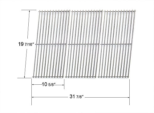 Char-Broil and Presidents Choice Gas Grill Stainless Steel Cooking Grid