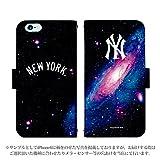 iPhone6s 手帳型 ケース [デザイン:45.NY・アンドロメダ] ニューヨークヤンキース iphoneケース スマホ スマートフォンカバー