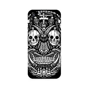 Mobicture Skull Abstract Premium Printed Case For Apple iPhone 4/4s
