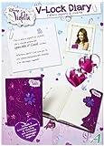 V-lock Violetta Personal Secret Diary with Lock