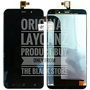 LAYCANZ Original.Coolpad Note 3 5.5 inch Black LCD Display Screen + Touch Screen Glass Digitizer Assembly + Aluminium 5in1 Tools