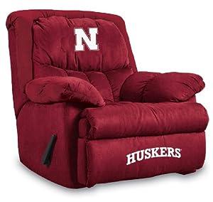 NCAA Nebraska Cornhuskers Home Team Microfiber Recliner by Imperial