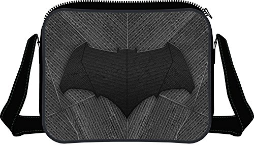 DC COMICS BATMAN Borsa Messenger, nero (Nero) - TIME-CD004BVS-MB