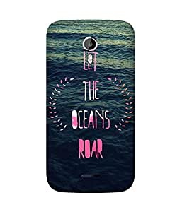 Ocean Roar Back Cover Case for Micromax Canvas Magnus A117