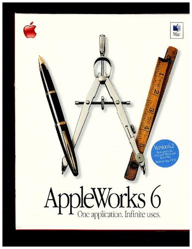 Appleworks 6 2 4 Office OLD VERSIONB000067JZF : image