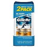 Gillette Clear Gel Sport Triumph Antiperspirant and Deodorant 2 count 3.8 oz