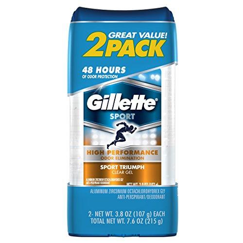 Gillette Clear Gel Sport Triumph Antiperspirant and