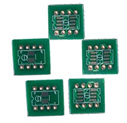 5PK SMD SO SOP SOIC/SSOP 8, Pitch 0.63mm/1.27mm to DIP Adapter Converter