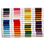Non-twisted Flat Silk Embroidery Thread - 60 colors - Import from Kyoto Japan