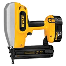 DEWALT DC608K 18-Volt 18-Gauge 2-Inch Brad Nailer Kit