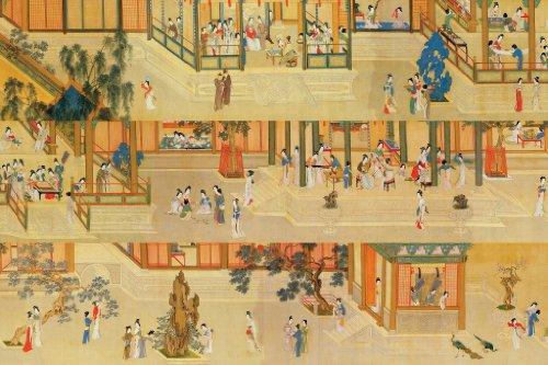 Artifact Puzzles - Qiu Ying Han Palace Wooden Jigsaw Puzzle