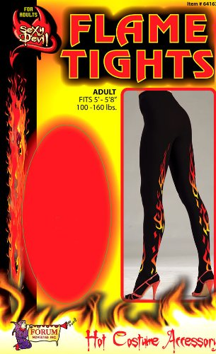 Sexy Devil Flame Tights - Womens Std.