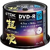 TDK データ用DVD-R 16倍速対応 ホワイトワイドプリンタブル キズや指紋ヨゴレに強いスーパーハードコート・ディスク 「超硬」シリーズ 50枚スピンドル DR47HCPWC50PA