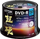 TDK データ用DVD-R 16倍速対応 ホワイトワイドプリンタブル 超硬シリーズ 50枚スピンドル DR47HCPWC50PA