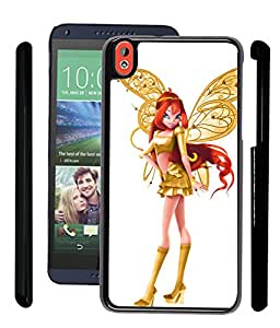 Fuson 2D Fancy Print Designer Premium Case Cover For HTC Desire 816-Stylish Girl With Wings - D908
