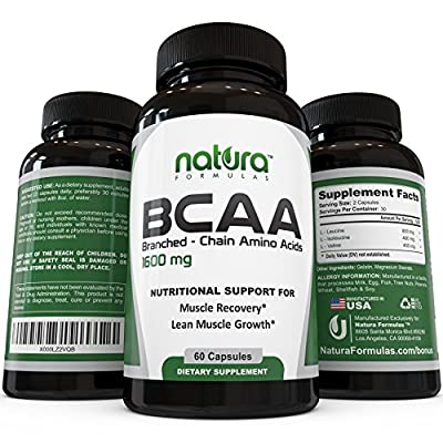 Natura Formulas BCAA Nutritional Supplement