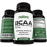 #1 Top Rated BCAA Capsules - The Best Branched Chain Amino Acids on Amazon - Quick Muscle Recovery, Lean Muscle Building, Boost Metabolism and Weight Loss - Get Results or Your Money Back