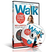 10,000 Steps Weight Loss - Walk On: 5 Fat Burning Miles Walking Exercise DVD