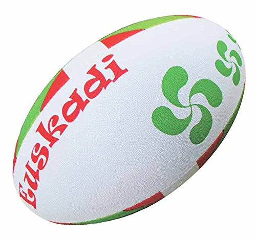 Ballon-de-rugby-Basque-Euskadi-Collection-supporter-Taille-5-Divers