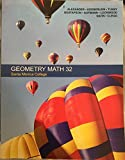 img - for Geometry Math 32 Santa Monica College Package Including Web Access Code and Student Study Guide book / textbook / text book