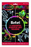 Scratch Art Magic Draw and Learn Animal Safari
