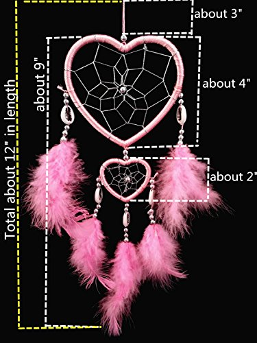Handmade Heart-shaped Dream Catcher (With a Betterdecor Gift Bag)