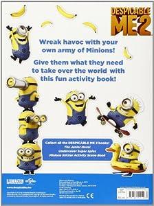 Despicable Me 2: Make a Minion Sticker Book