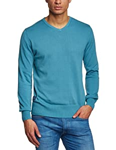 Oxbow Bambo Pull col V Homme Orange FR : XL (Taille Fabricant : XL)