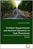 Fertilizer Requirements and Nutrient Dynamics in Teak Plantations: (Tectona grandis) Plantations in Peninsular Malaysia