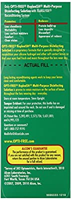 Opti-Free Replenish Multi-Purpose Disinfecting Solution, 60 Ounce Pack