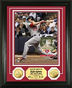 MLB St. Louis Cardinals 2011 NLCS MVP 24KT Gold Coin Photo Mint by Highland Mint