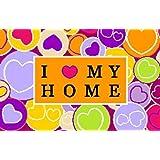"""I love my home - waschbare Fussmattevon """"Kleentex"""""""