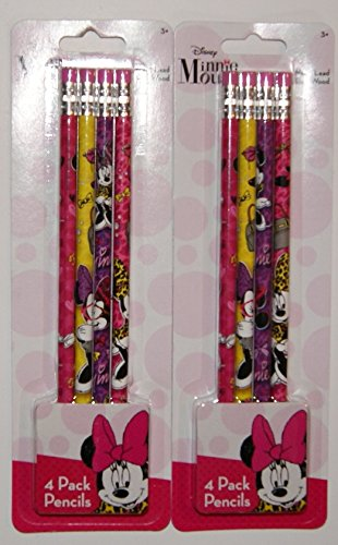 Minnie Mouse Drawing Pencils - 8 Ct