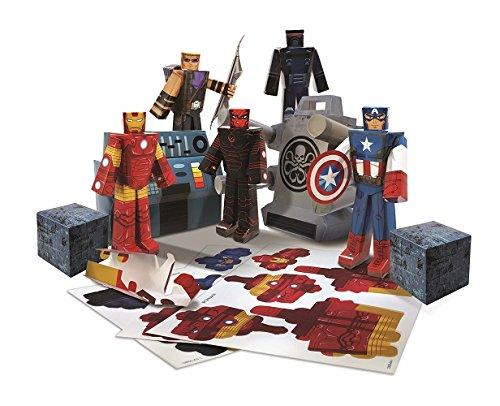 Zoofy International Team Heroes Avengers Action Figure Pack